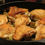 braised chicken with olives